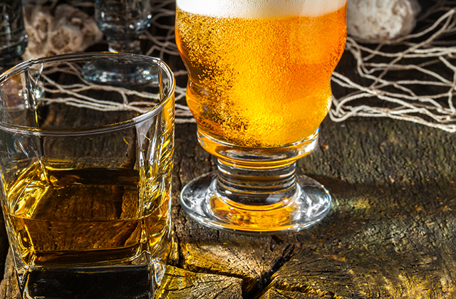 ビール ウイスキー