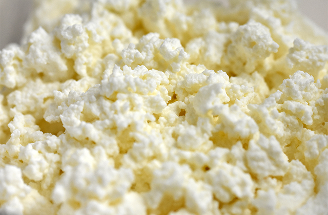 自家製カッテージチーズ