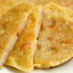 レンコンのチーズ焼き